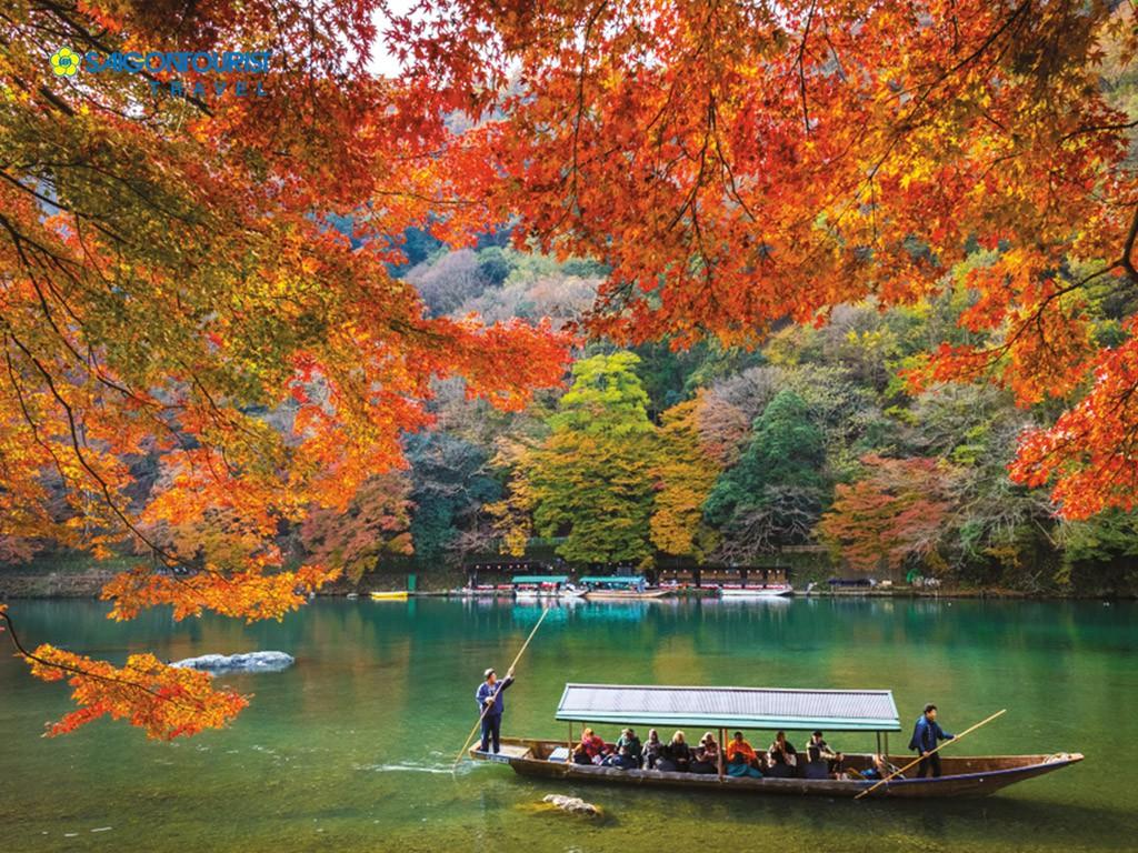 7 điểm ngắm lá mùa thu đẹp nhất Nhật Bản - Ảnh 9.