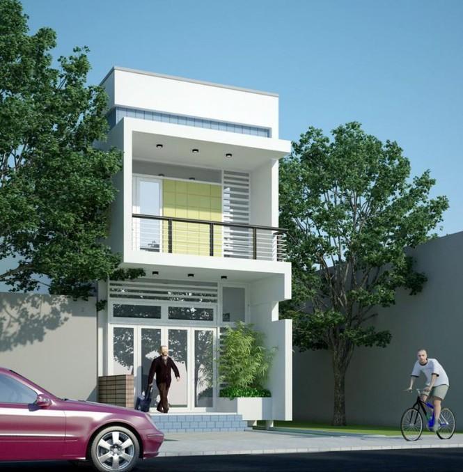 Mẫu nhà phố 2 tầng tuyệt đẹp cho khu đất mặt tiền hẹp - Ảnh 3.