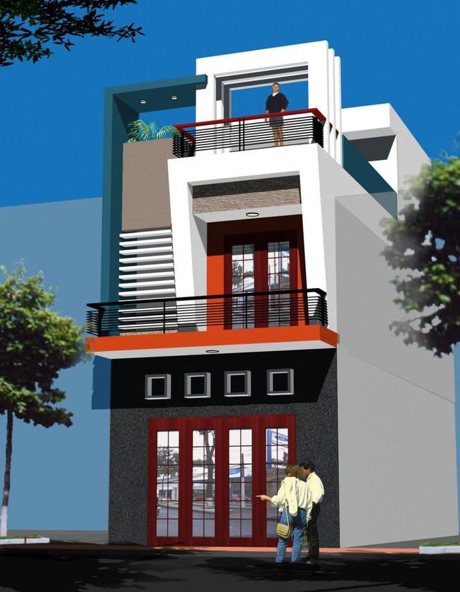 Mẫu nhà phố 2 tầng tuyệt đẹp cho khu đất mặt tiền hẹp - Ảnh 4.