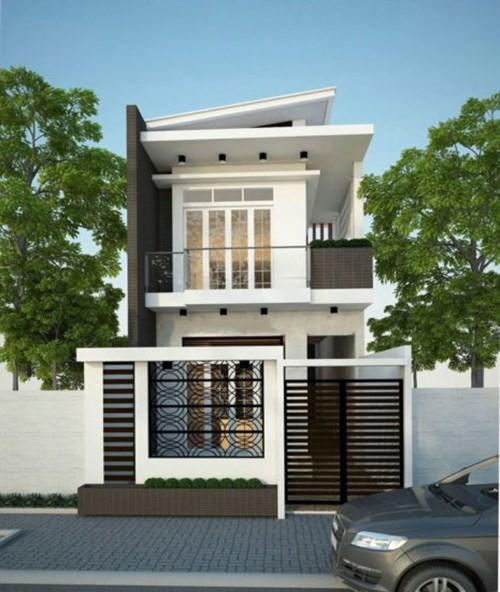 Mẫu nhà phố 2 tầng tuyệt đẹp cho khu đất mặt tiền hẹp - Ảnh 7.