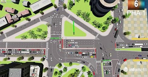 Đà Nẵng: Đã chọn phương án tổ chức lại nút giao thông phía Tây cầu Rồng - Ảnh 2.