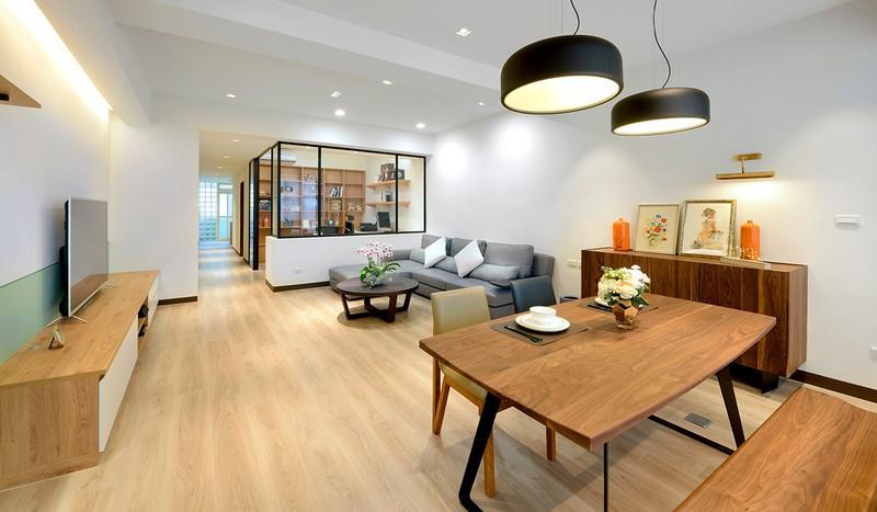 Cải tạo căn hộ 132m2 thành không gian sống hiện đại - Ảnh 3.