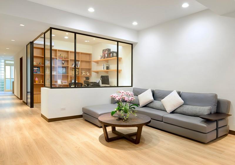 Cải tạo căn hộ 132m2 thành không gian sống hiện đại - Ảnh 4.
