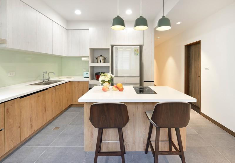 Cải tạo căn hộ 132m2 thành không gian sống hiện đại - Ảnh 8.