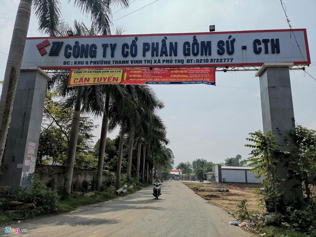 Kho chứa dầu thải của công ty gốm sứ Thanh Hà - Ảnh 1.