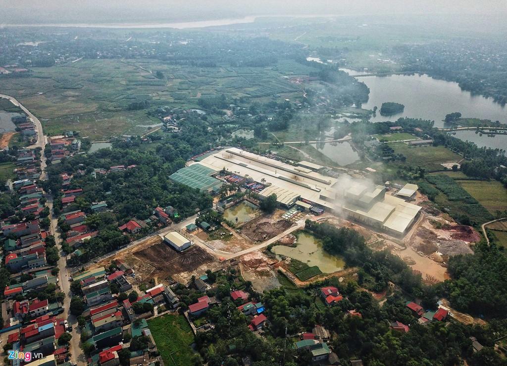 Kho chứa dầu thải của công ty gốm sứ Thanh Hà - Ảnh 2.