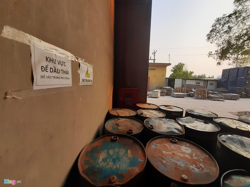 Kho chứa dầu thải của công ty gốm sứ Thanh Hà - Ảnh 5.
