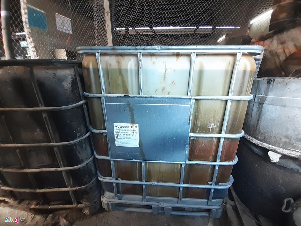 Kho chứa dầu thải của công ty gốm sứ Thanh Hà - Ảnh 6.