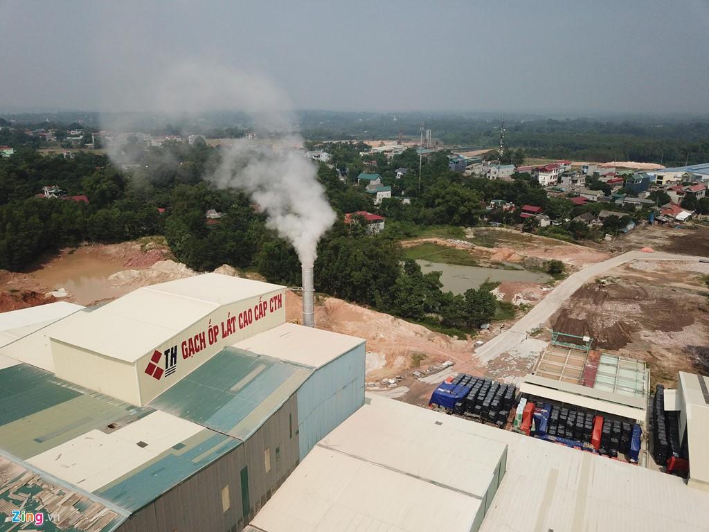 Kho chứa dầu thải của công ty gốm sứ Thanh Hà - Ảnh 9.