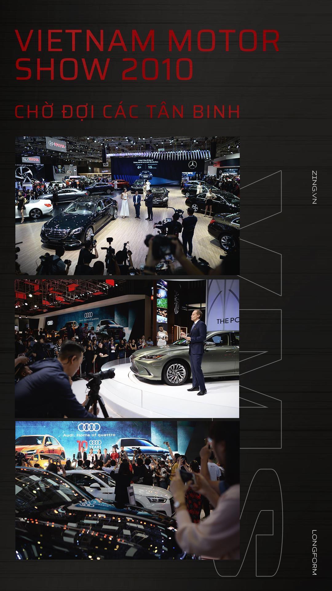 Vietnam Motor Show 2019 - tân binh VinFast đối đầu Ford, Toyota - Ảnh 1.