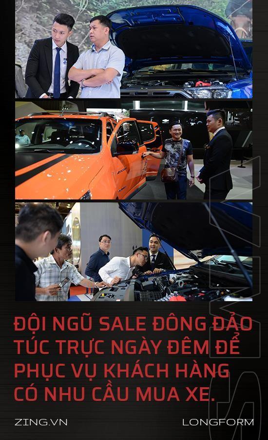 Vietnam Motor Show 2019 - tan binh VinFast doi dau Ford, Toyota hinh anh 10