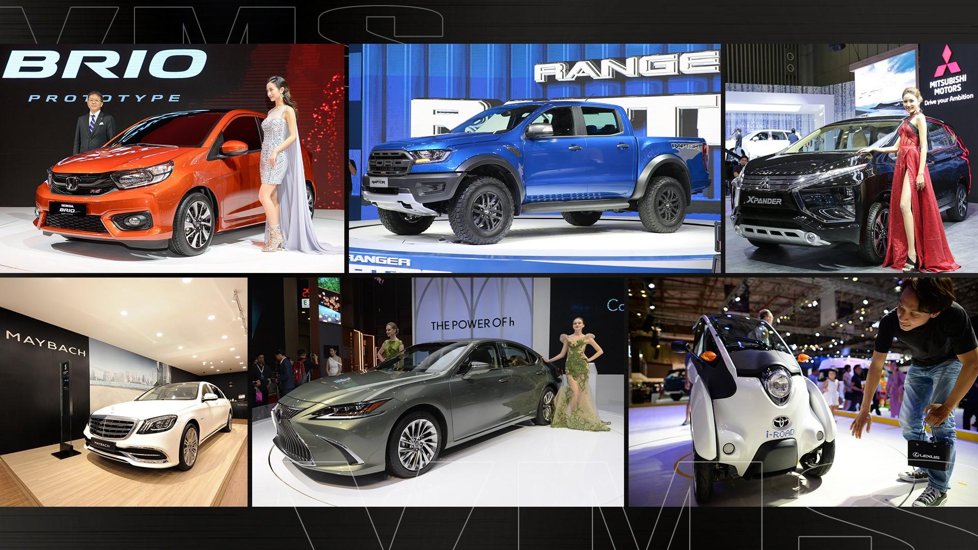 Vietnam Motor Show 2019 - tân binh VinFast đối đầu Ford, Toyota - Ảnh 12.