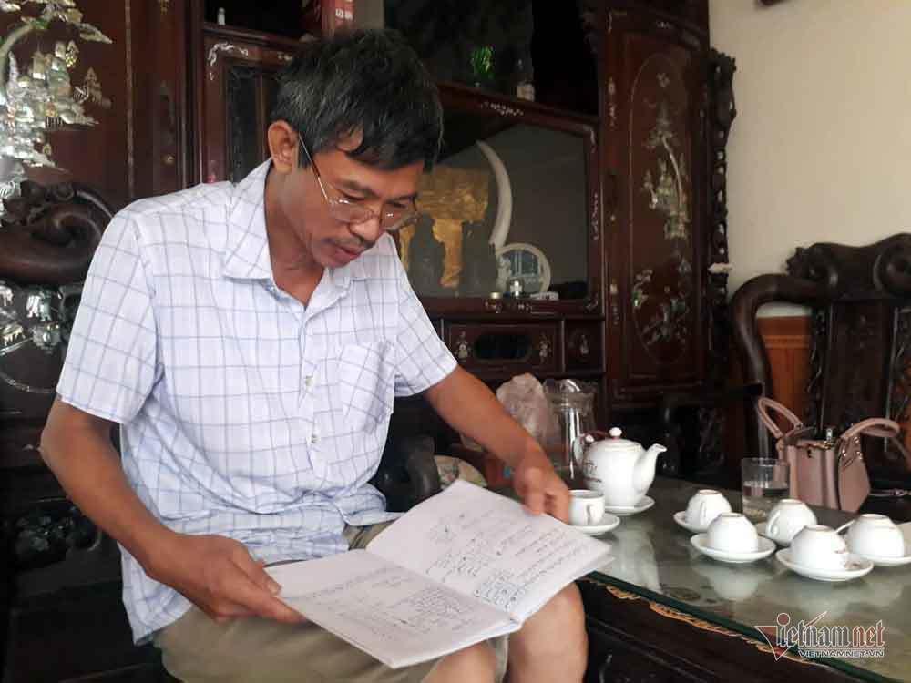 Người đàn ông Hà Nội hiến đất hàng trăm triệu xây đường - Ảnh 1.