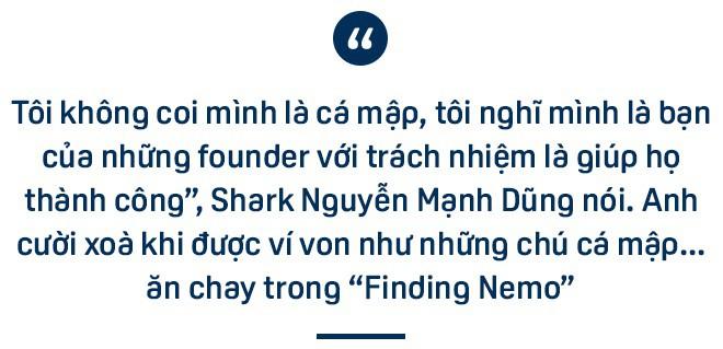 Shark Dũng: Mình có thể là con cá mập bị cá mập khác cắn, điều đấy không quan trọng! - Ảnh 1.