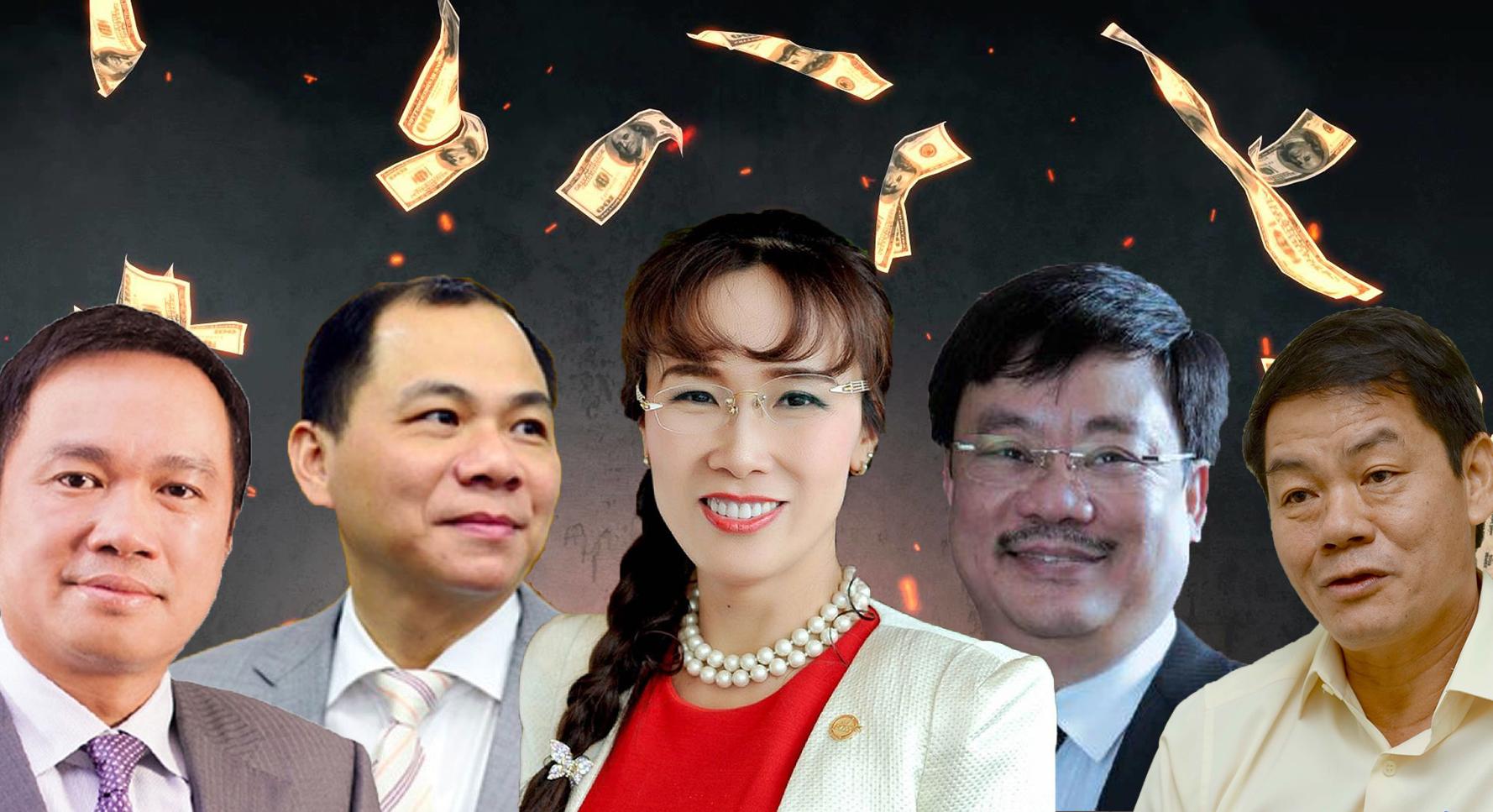142 người siêu giàu Việt Nam
