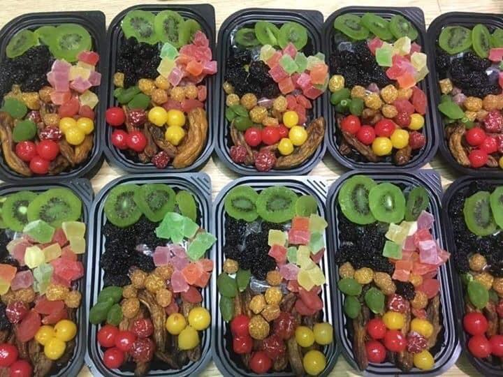 Mứt Tết trái cây bảy sắc cầu vồng, giật mình hàng cao cấp 35.000 đồng/kg - Ảnh 3.