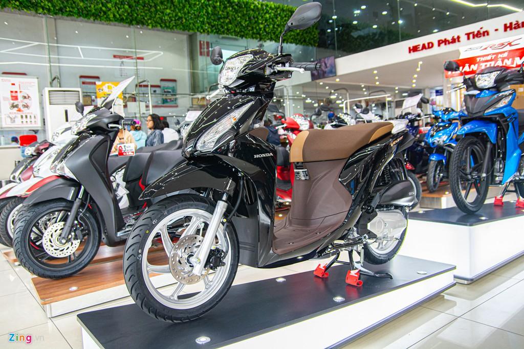 Honda Vision phiên bản mới về đại lí, chênh giá hơn 2 triệu - Ảnh 9.