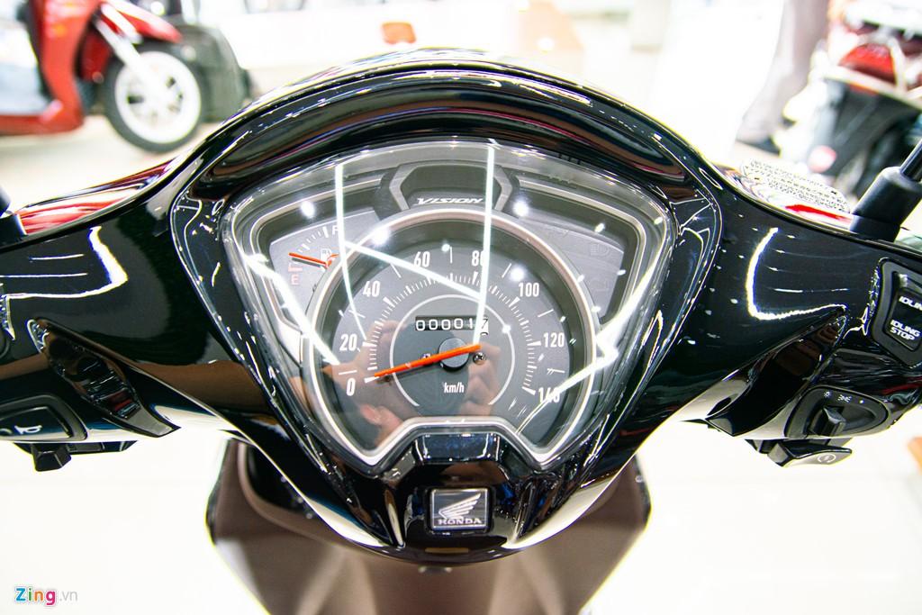 Honda Vision phiên bản mới về đại lí, chênh giá hơn 2 triệu - Ảnh 4.