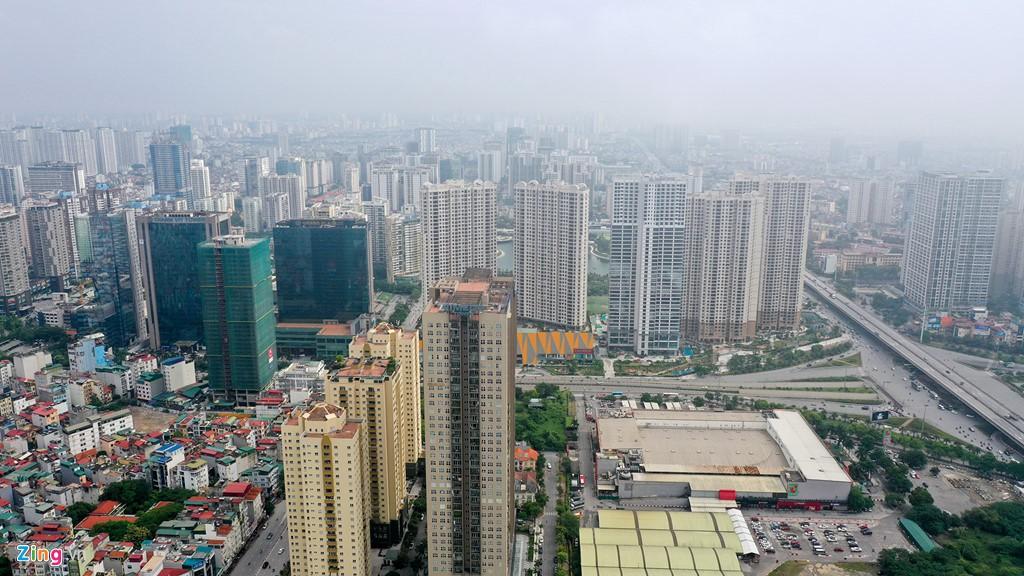 Mây quanh tòa nhà cao nhất Hà Nội sau khi không khí tốt đột biến - Ảnh 10.