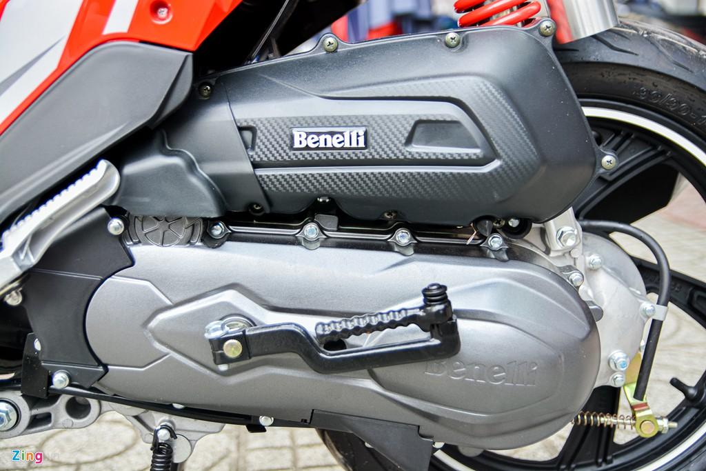 Xe tay ga Benelli VZ125i giá từ 29,8 triệu có gì hấp dẫn? - Ảnh 11.