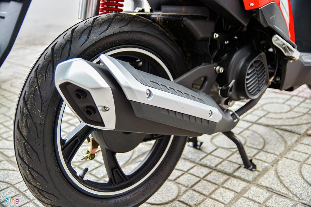 Xe tay ga Benelli VZ125i giá từ 29,8 triệu có gì hấp dẫn? - Ảnh 13.