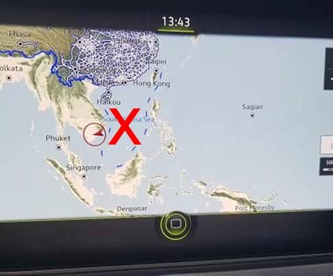 Ôtô có bản đồ đường lưỡi bò vào Việt Nam thế nào? - Ảnh 1.