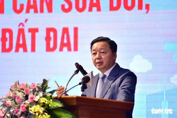 Bộ trưởng Trần Hồng Hà: Con sông quê đâu còn xanh như ngày xưa nữa - Ảnh 1.