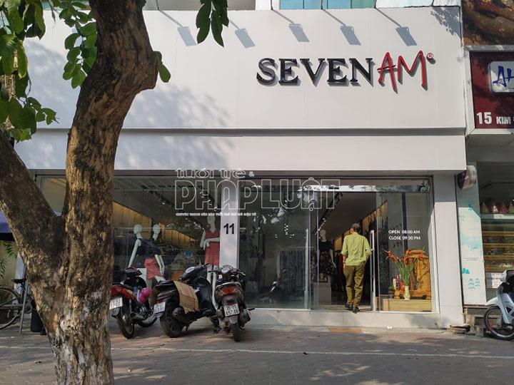 Bài 3: Quản lí thị trường đồng loạt kiểm tra các cửa hàng SEVEN.AM ở Hà Nội - Ảnh 2.
