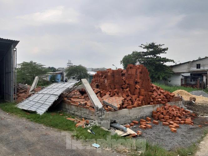 'Chiêu thức' mới xây nhà trái phép trên vùng dự án ga đường sắt Đà Nẵng - Ảnh 1.