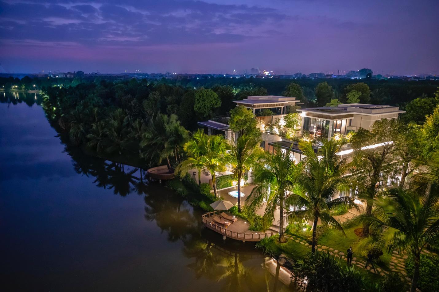 Khám phá vẻ đẹp bền vững tại những căn biệt thự đảo triệu đô Ecopark - Ảnh 2.
