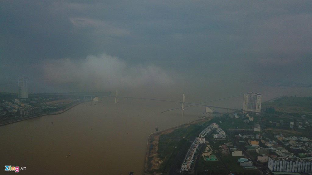 Đà Nẵng ẩn hiện trong sương mù - Ảnh 3.