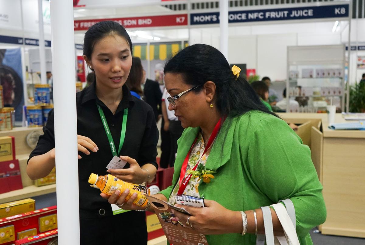 Tân Hiệp Phát tham gia gian hàng Thương hiệu quốc gia Việt Nam tại triển lãm Vietnam Foodexpo 2019 - Ảnh 4.