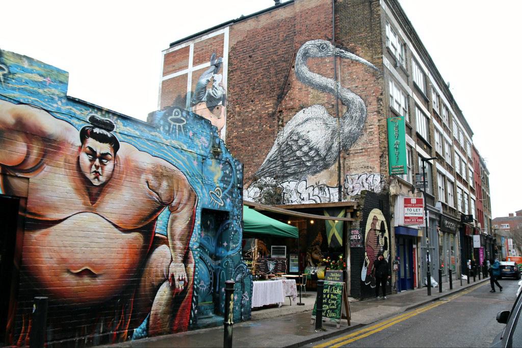 4 khu phố nghệ thuật độc đáo tại London - Ảnh 3.