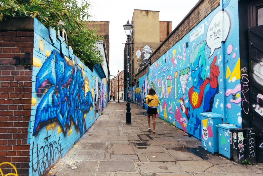 4 khu phố nghệ thuật độc đáo tại London - Ảnh 6.