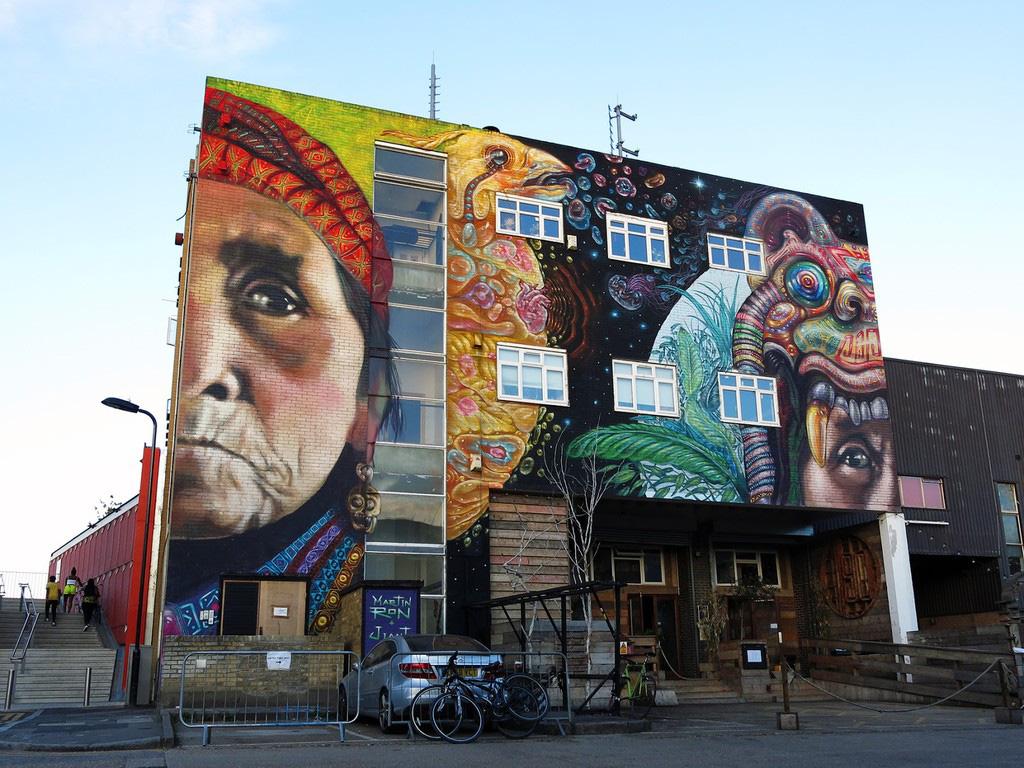 4 khu phố nghệ thuật độc đáo tại London - Ảnh 7.