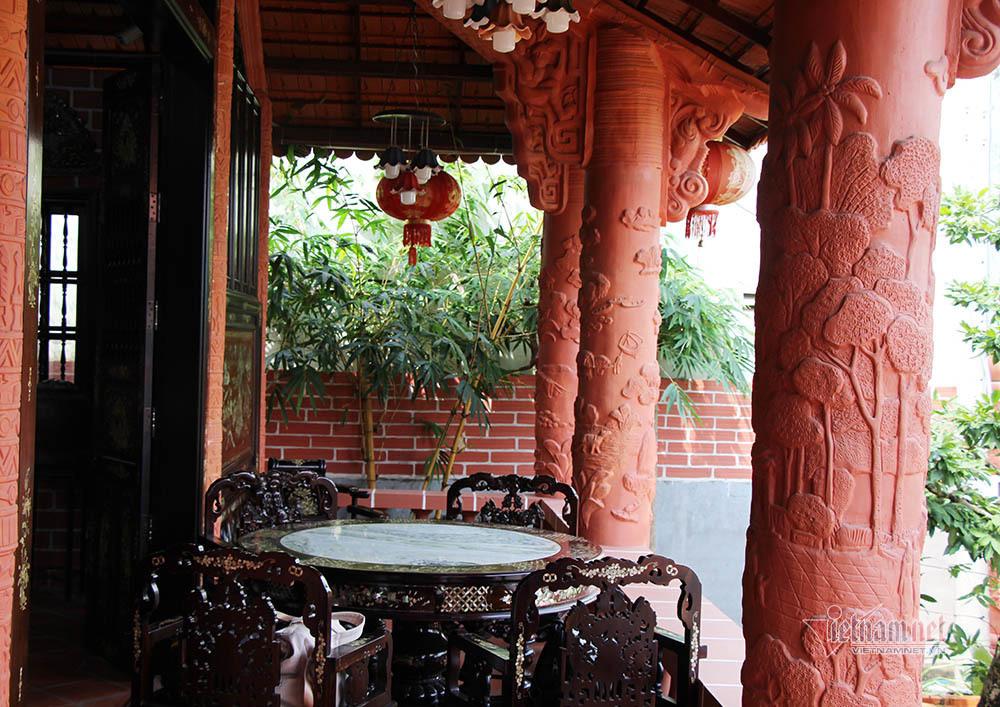 Biệt phủ bằng gốm đỏ có 1 không 2 Việt Nam của đại gia miền Tây - Ảnh 15.