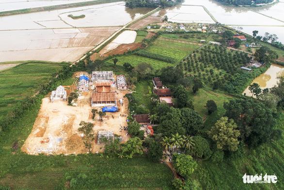 Để chùa triệu đô xây 'chui' trên đất di tích, xã nói không biết vùng bảo vệ - Ảnh 2.