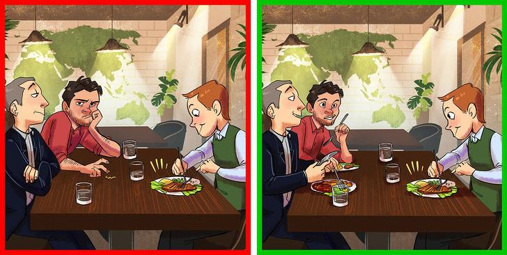 6 sai lầm ai cũng từng mắc phải khi ăn uống ở nhà hàng - Ảnh 4.