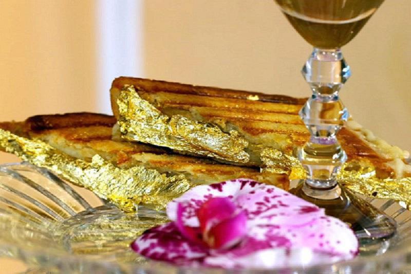 6 món ăn phủ vàng dành cho giới nhà giàu ở Dubai - Ảnh 4.