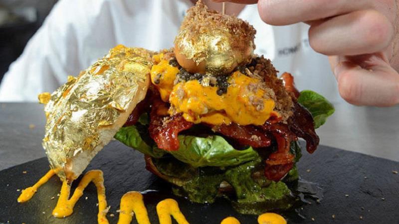 6 món ăn phủ vàng dành cho giới nhà giàu ở Dubai - Ảnh 6.