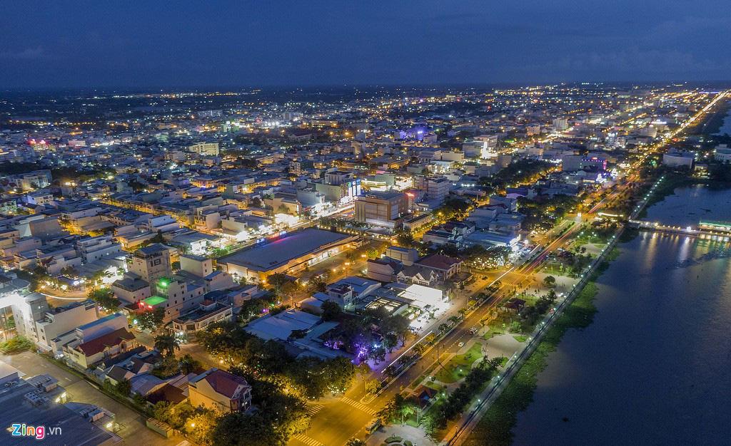 Khu đô thị lấn biển đầu tiên của Việt Nam sau 20 năm xây dựng - Ảnh 1.
