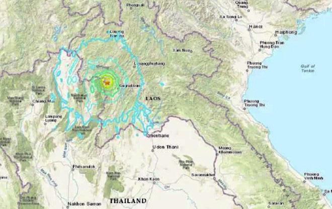 Động đất 6,1 độ ở Lào, nhiều chung cư tại Hà Nội rung lắc - Ảnh 1.