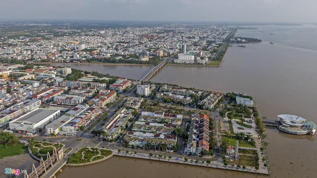 Khu đô thị lấn biển đầu tiên của Việt Nam sau 20 năm xây dựng - Ảnh 2.