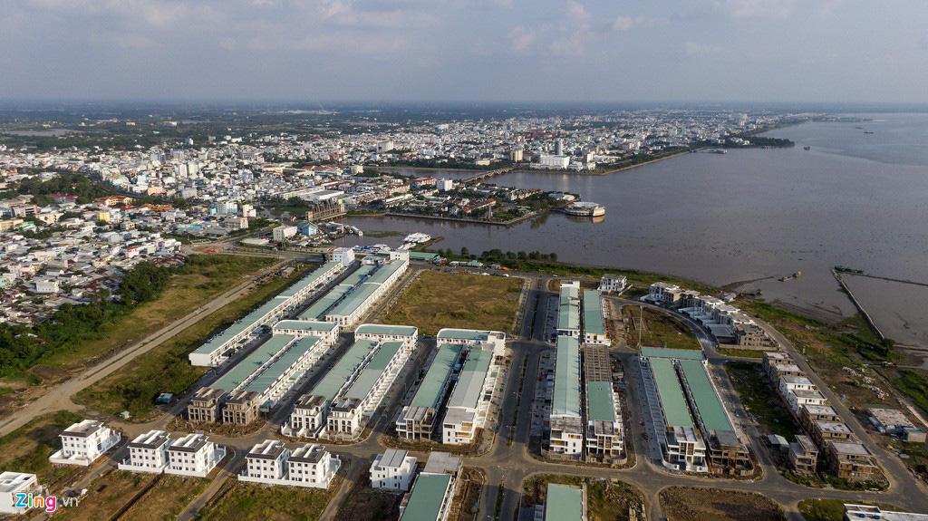 Khu đô thị lấn biển đầu tiên của Việt Nam sau 20 năm xây dựng - Ảnh 3.