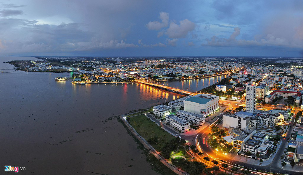 Khu đô thị lấn biển đầu tiên của Việt Nam sau 20 năm xây dựng - Ảnh 4.