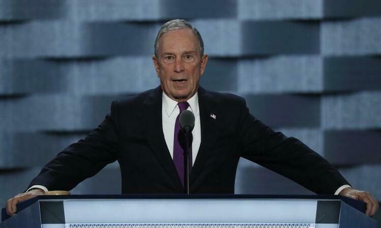 Bloomberg chi 30 triệu USD quảng bá tranh cử một tuần - Ảnh 1.