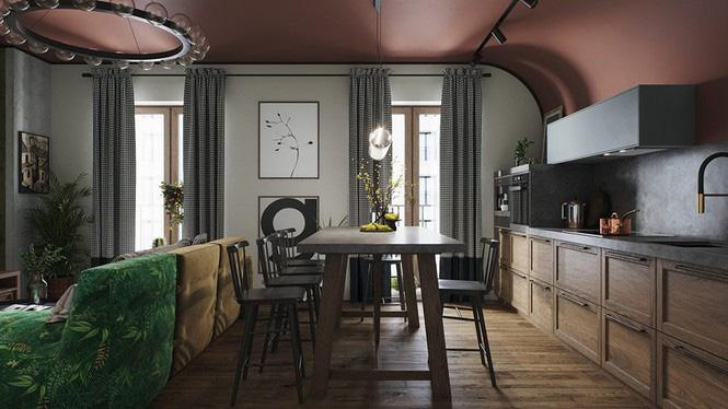 Vẻ đẹp khác lạ của căn chung cư có cách trang trí 'không giống ai' - Ảnh 2.
