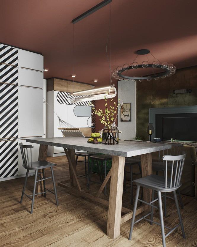 Vẻ đẹp khác lạ của căn chung cư có cách trang trí 'không giống ai' - Ảnh 3.
