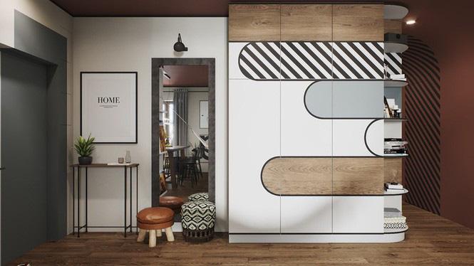 Vẻ đẹp khác lạ của căn chung cư có cách trang trí 'không giống ai' - Ảnh 5.