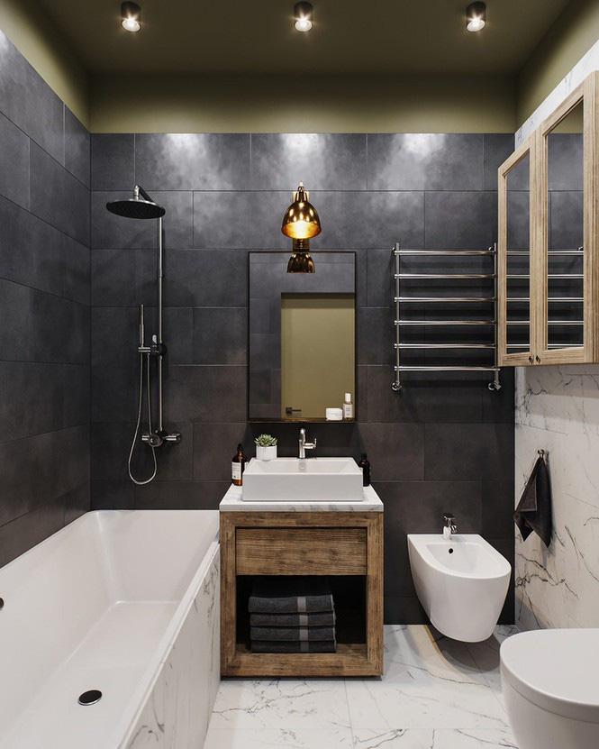 Vẻ đẹp khác lạ của căn chung cư có cách trang trí 'không giống ai' - Ảnh 6.